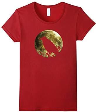 Raven Full Moon Halloween T-shirt