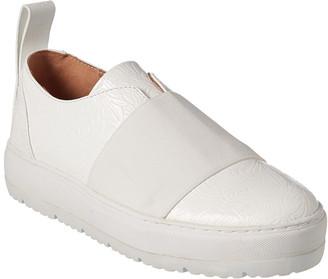 Jil Sander Platform Leather Sneaker