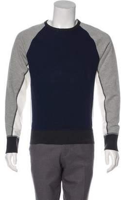 Rag & Bone Woven Colorblock Sweatshirt