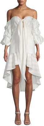 Alexis Women's Off-The-Shoulder Flounce Dress