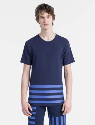 Calvin Klein modern cotton limited edition striped t-shirt