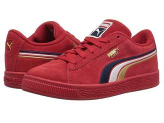 Puma Kids Suede Classic Multicolor Embossed (Little Kid/Big Kid)