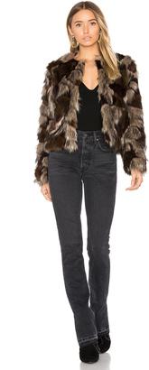 Tularosa Harkin Faux Fur Coat $258 thestylecure.com