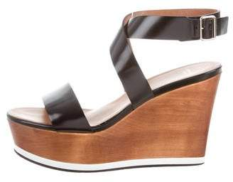 Givenchy Ankle Strap Wedge Sandals
