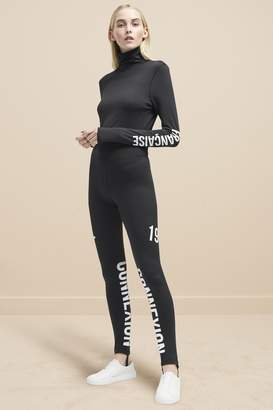 French Connection Hollis Jersey Stirrup Leggings