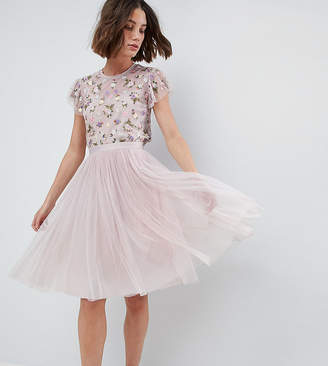 Needle & Thread Tulle Midi Skirt