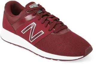 New Balance Burgundy 24 Running Sneakers