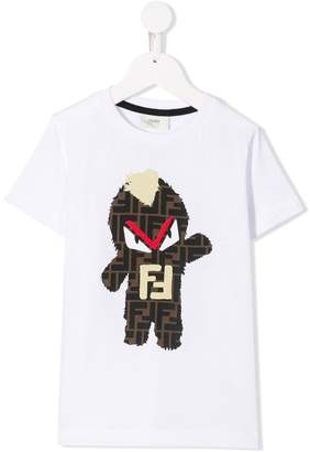 Fendi Kids Monster T-shirt