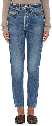 RE/DONE Women's The High Rise Jeans $240 thestylecure.com