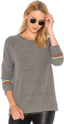 Michael Lauren Percy Classic Pullover with Stripes