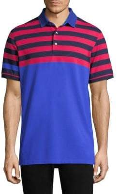 Croton Greyson Modern Tailored-Fit Embellished Polo