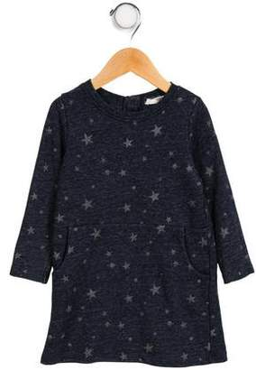 Nice Things Girls' Mélange Star Print Dress
