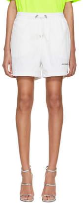 Misbhv White Sport Track Shorts