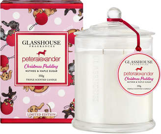 Peter Alexander Glasshouse Fragrances Limited Edition P.A. Xmas Pudding Candle 350G