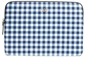 Kate Spade Gingham Universal Laptop Sleeve