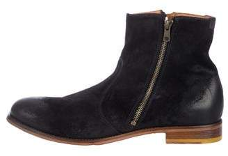 Doucal's Suede Ankle Boots w/ Tags