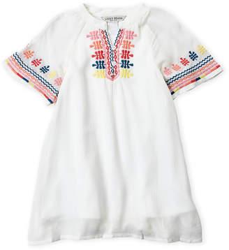 Lucky Brand Toddler Girls) Embroidered Short Sleeve Dress