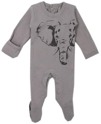 L'ovedbaby Sleeper 100% Organic Cotton Elephant Grey 6 to 9 Months