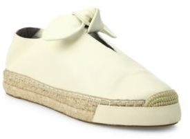 Rebecca Minkoff Gia Leather Sneakers $125 thestylecure.com