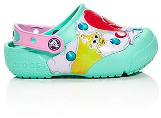 Crocs x Nickelodeon Girls' Shimmer and Shine© Light-Up Clogs - Walker, Toddler, Little Kid