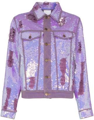 Ashish x Browns sequin embellished denim jacket