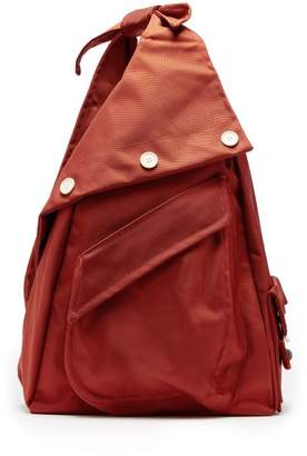Raf Simons X Eastpak - Organised Sling Nylon One Shoulder Backpack - Mens - Red