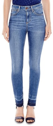 Sandro Markus Released Hem Jeans in Midnight Blue $250 thestylecure.com