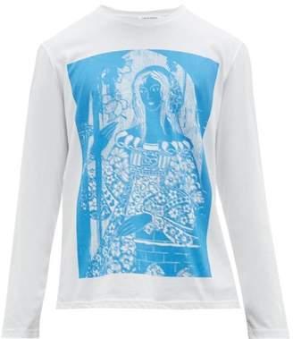 Craig Green Painting Print Cotton T Shirt - Mens - Blue