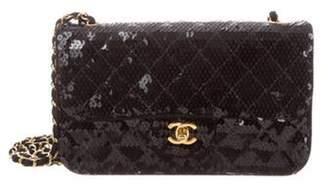 Chanel Sequin Flap Bag Metallic Sequin Flap Bag