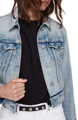 AllSaints Hay Crop Denim Jacket