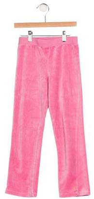 Juicy Couture Girls' Velour Pants