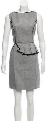 Milly Sleeveless Peplum Dress