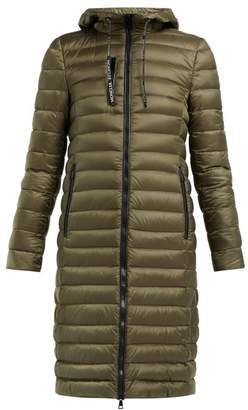 f8f2278df5c Moncler Suvette Quilted Down Coat - Womens - Dark Green