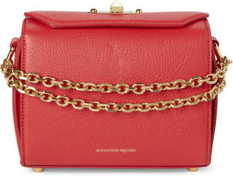 Alexander McQueen Lust Red Box Bag 19