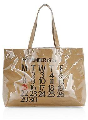 Saks Fifth Avenue Women's Calendar PVC Shopper