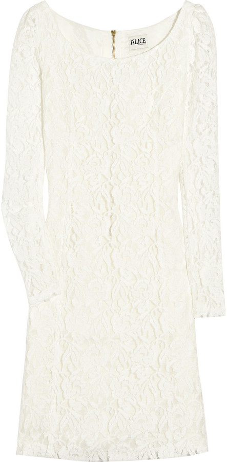 ALICE by Temperley Lace shift dress