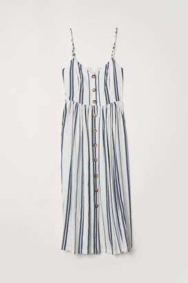 H&M Dress with Buttons - White