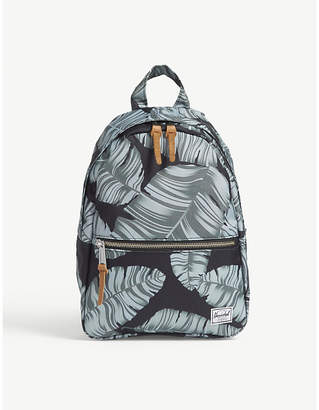 Herschel Black Palm Floral Town XS Backpack