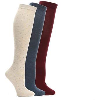 Nine West Studded Knee Socks - 3 Pack - Women's