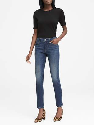 Banana Republic Slim Straight Dark Wash Jean