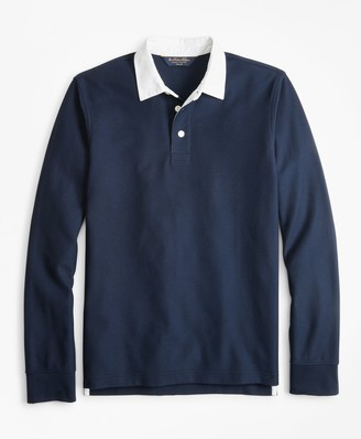 Brooks Brothers Slim Fit Rugby Shirt
