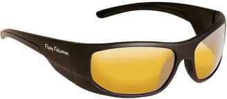 Fly London FLYING FISHERMAN Fish Cape Horn Sunglasses Mt Black Yellow Amber