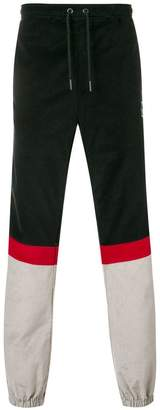 Kappa side logo trousers