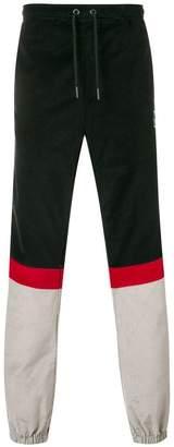Kappa side logo trousers