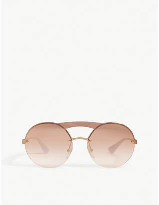 f2f9b4f5ec Prada Pr65Ts round-frame sunglasses