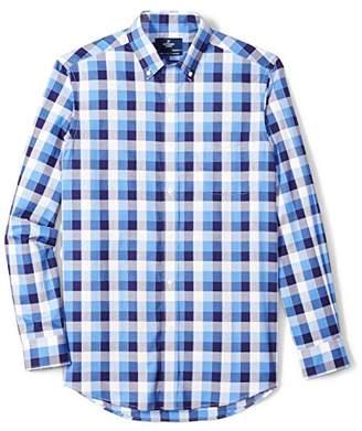 Buttoned Down Men's Classic Fit Button-Collar Supima Cotton Sport Shirt