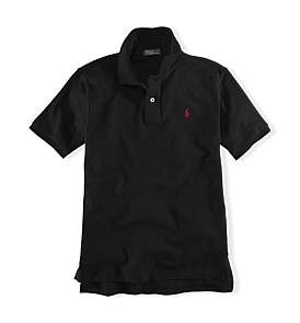Polo Ralph Lauren Solid Basic Mesh Polo (8-14 Years)