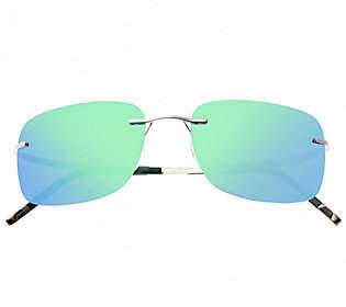 Breed Orbit Polarized Titanium Sunglasses