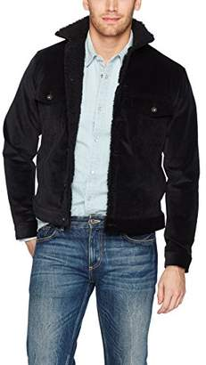 Naked & Famous Denim Men's Sherpa Jacket- Stretch Corduroy