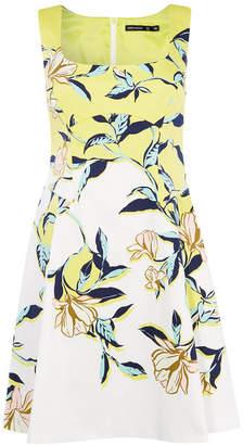 Karen Millen Floral Print Skater Dress
